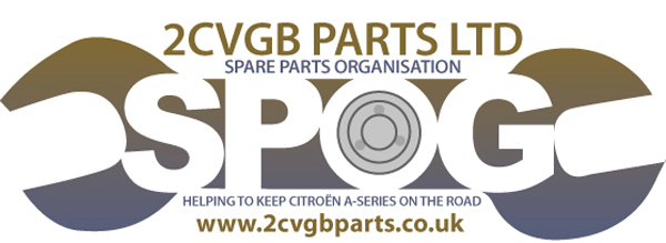 2CVGB Spare Parts Organisation - SPOG for 2CV parts