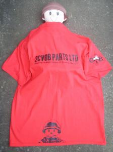 1) Taffy wearing 2CVGBPARTS Ltd promotional T Shirt