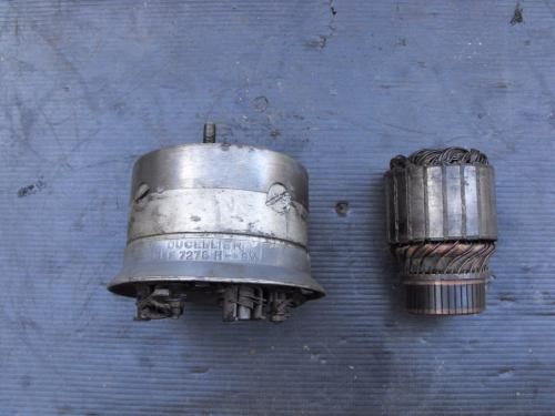 10) Crank case dynamo removed from a car