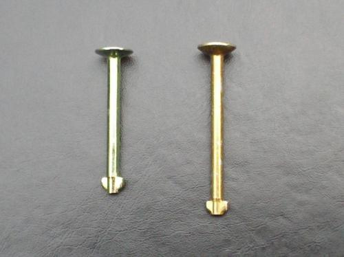 11) Different lengths of front drum brake steady pins (2)