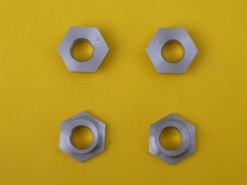 12) SPOG's set of 4 stainless steel eccentrics for 2cv4, 2cv6, Dyane4 & AZU 200mm front drum brakes