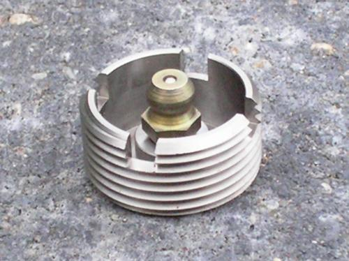 14) 331129 Large nippled Castle Screw for 2cv, Dyane and Mehari
