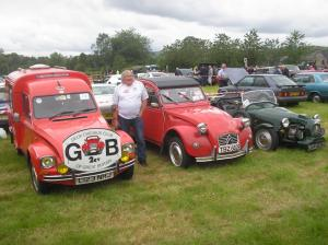 15) 2cvGB represented at the Hope Motor Show