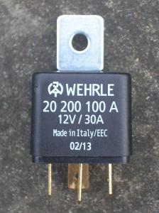 2) A single 30 amp relay