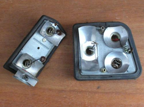 8) Dyane and 2cv rear-light units