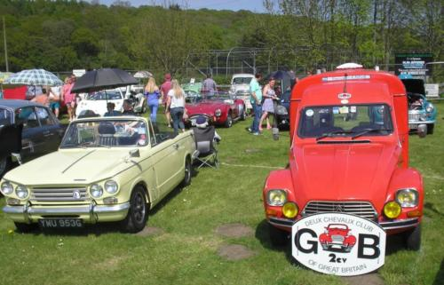 3) Classic Car Show at the 2018 Ilkley Carnival