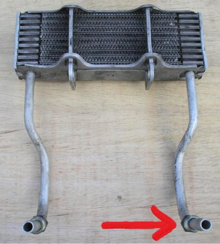 5) Oil Cooler leak