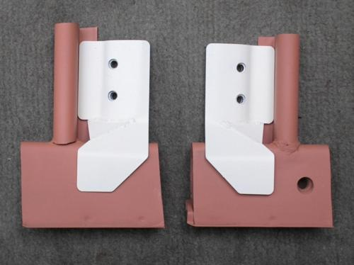 k) 712011 & 712021 2cv front door replacement lower hinge plates