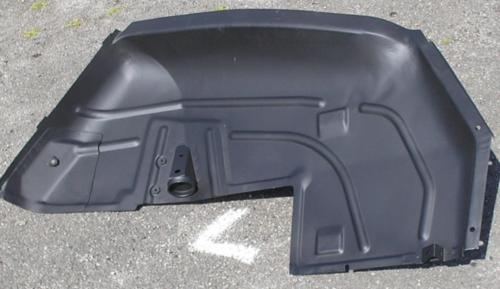 SPOG 2CV Parts -Dyane left rear inner wing